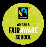We are a FairAware School Icon