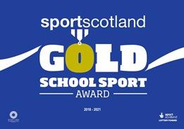 Sportscotland Gold Award Icon